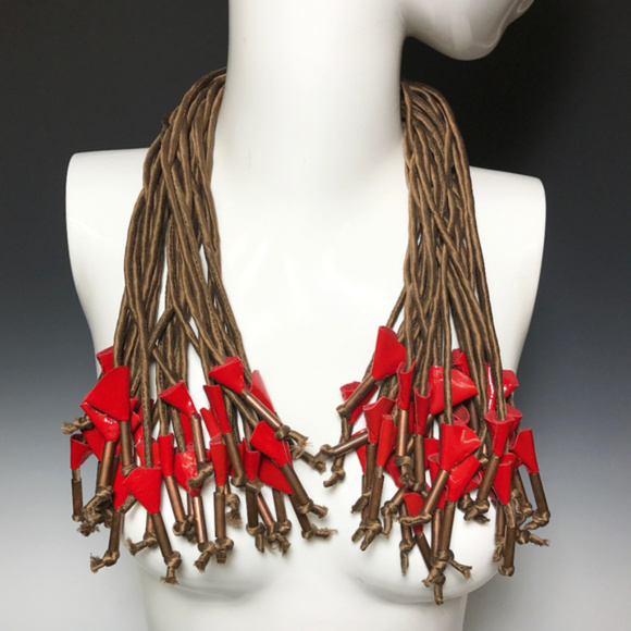 Ports 1961 Jewelry - Ports 1961 Luke Tanabe Multi Strands Silk Necklace